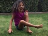 Нападения страшного зверя на девочку