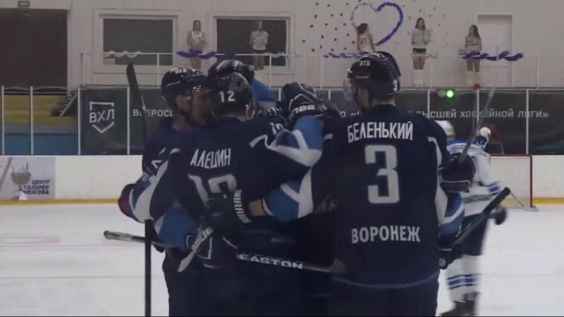 Егор Алешин забивает гол в первой же игре после возвращения в Буран.