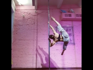 Daria Sokolovskaya / Дарья Соколовская (pole dance) Chelyabinsk