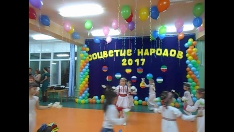 Марийский танец. Выступают дети из детского сада Василек (Сургут)