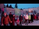 Коляда на площади Ленина