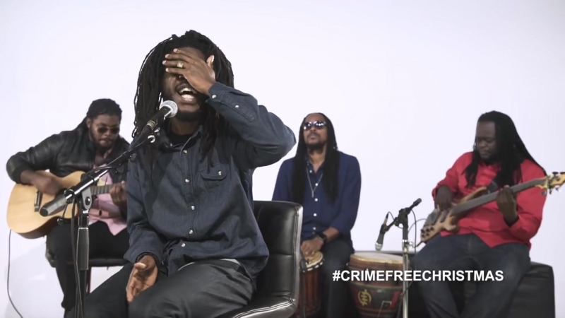 Chronixx - Santa Claus, Do You Ever Come To The Ghetto (Live @ Crime Free Christmas Project)