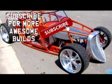 """1933 Ford Speedstar Roadster Electric Hot-Rod """"E-Rod"""" Build Project"""