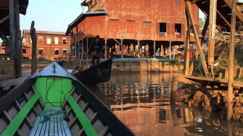 Бирманская венеция