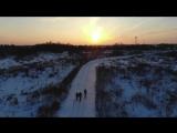 Прогулка с друзьями на природе