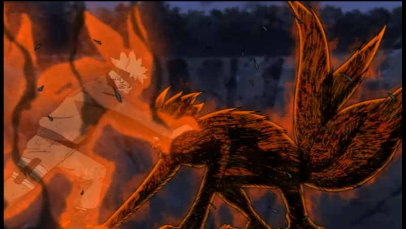 Naruto Shippuuden Наруто Ураганные Хроники Наруто Кьюби Против Соры Кьюби