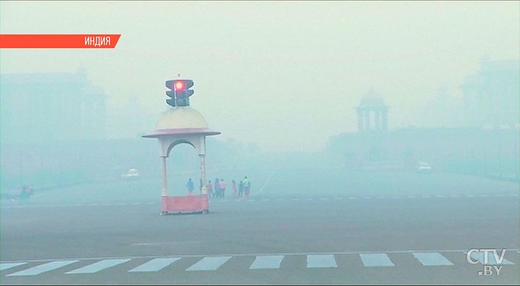Фестиваль фейерверков вДели привел ксильному загрязнению воздуха