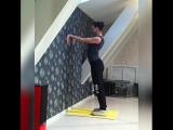 Комплекс упражнений для разогрева и растяжки плеч и спины_ Анастасия Лань
