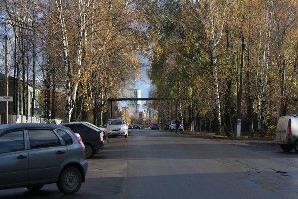 Перспективный вид на самую высокую часть Шахуньи  14 ноября 2017