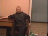 Бухой малолетка в отделении!! блин мне ржачно было)))))