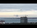 Тренировки гидросамолёта Геленджик 05 12 2017