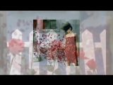 Красивая японская песня и розы
