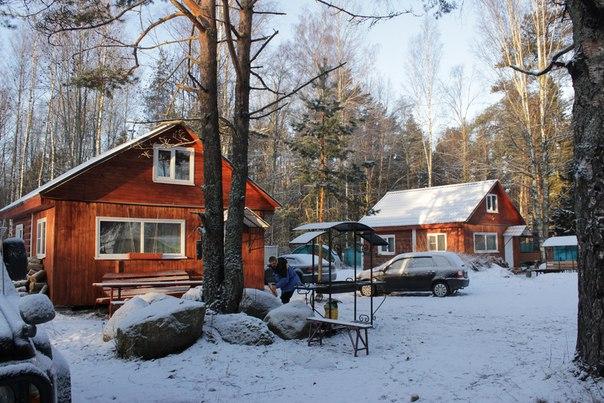 Семейная база отдыха на озере александровское