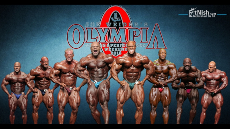 мр Олимпия.. после заключения договора с WADA..