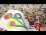 ОТКРЫТКА НА 8 МАРТА СВОИМИ РУКАМИ ДЛЯ ДЕТЕЙ ♥ Ребенок 3 года 6 месяцев