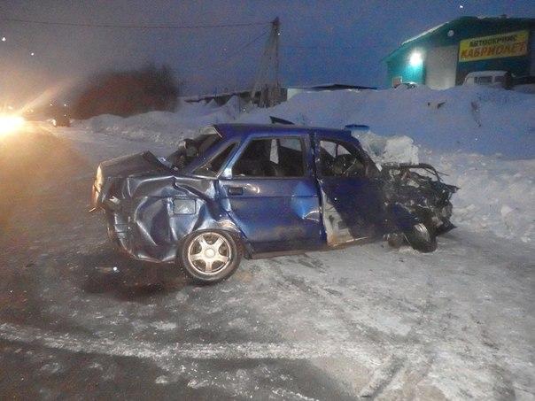 ВКирове наодном участке дороги задень произошли два ДТП