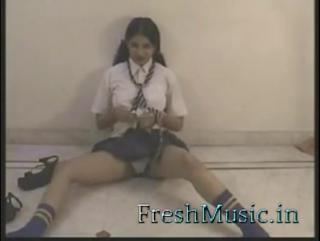 Indian school girl babe tina