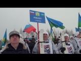 Лыжный переход десантников.РВ ТВ