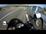 Old fart barely kills bikers