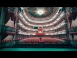Съемки с квадрокоптера внутри красивейших помещений Петербурга.