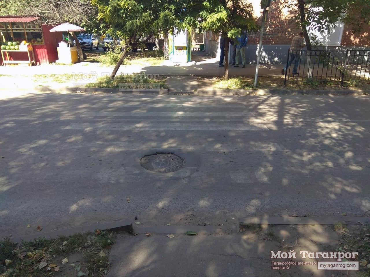 В Таганроге водитель Peugeot сбил пешехода на пешеходном переходе