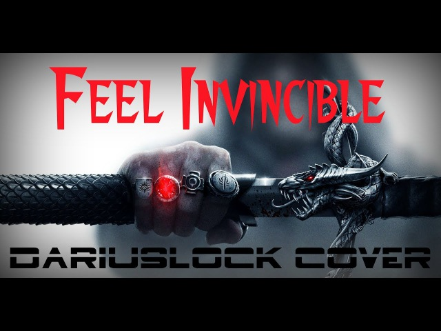 Skillet Feel Invincible song cover by DariusLock Videogames