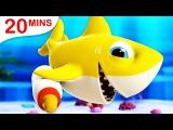 Baby Shark 3D  Where are my Teeth  Johny Johny Yes Papa  Nursery Rhymes by Little Angel