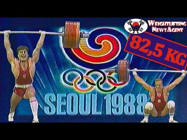 Olympic Weightlifting 1988 Seoul | 82,5KG | Highlights
