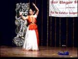 kathak performance of Dr Bhawna Grover in mumbai .