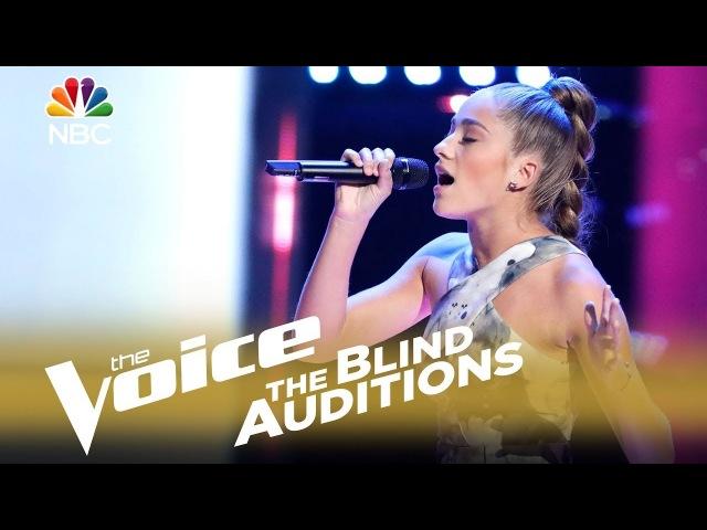 The Voice 2018 Blind Audition - Brynn Cartelli: