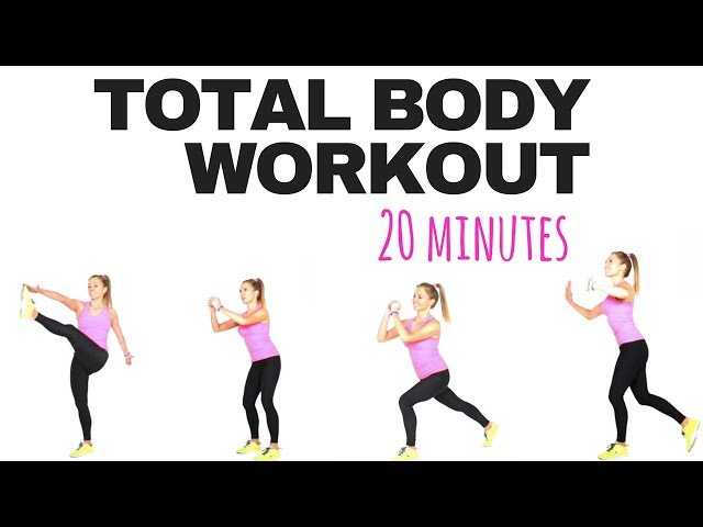 Full Body Fat Burner Workout at Home - easy to follow, suitable for beginners- no equipment needed