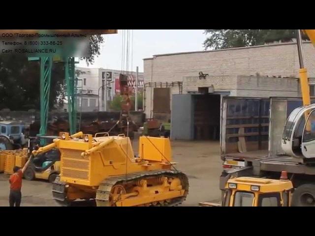 Отгрузка бульдозера Б10 PROFFI производства Росальянс в г Тула