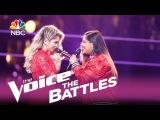 Шоу Голос США 2107. - Брук Симпсон против Софии Боллман с песней Ты уже большая девочка.