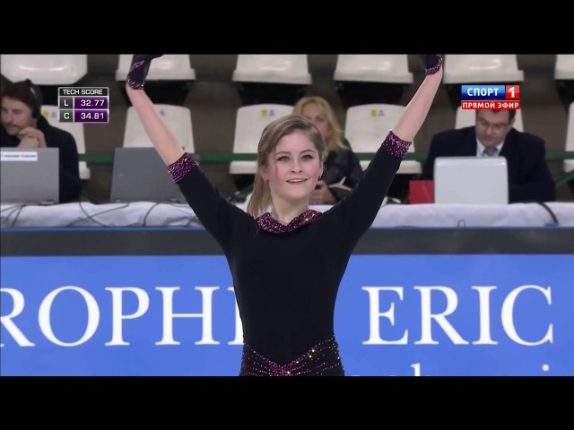 Юлия Липницкая, гран-при Франции, КП 2 (65.63)