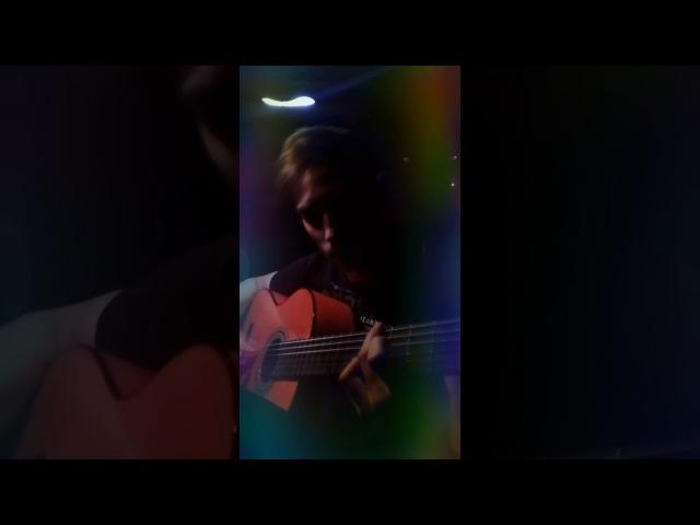 Eric Clapton - Tears in Heaven ( Соло гитара ) Василий Комаров