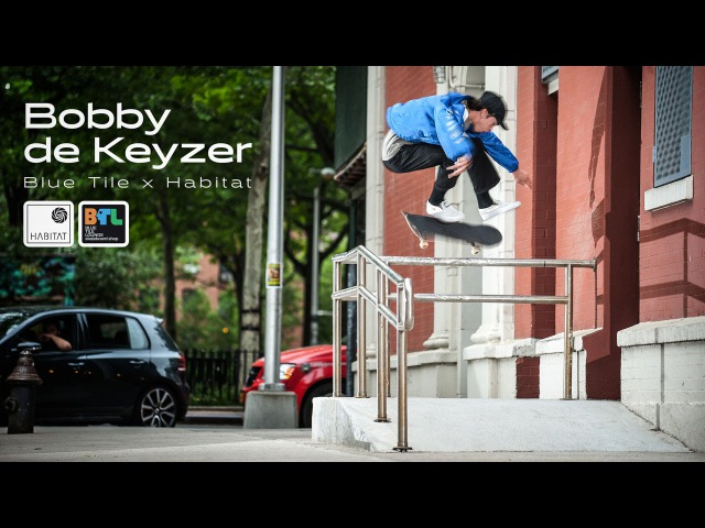 Bobby de Keyzers Blue Tile Lounge x Habitat Part