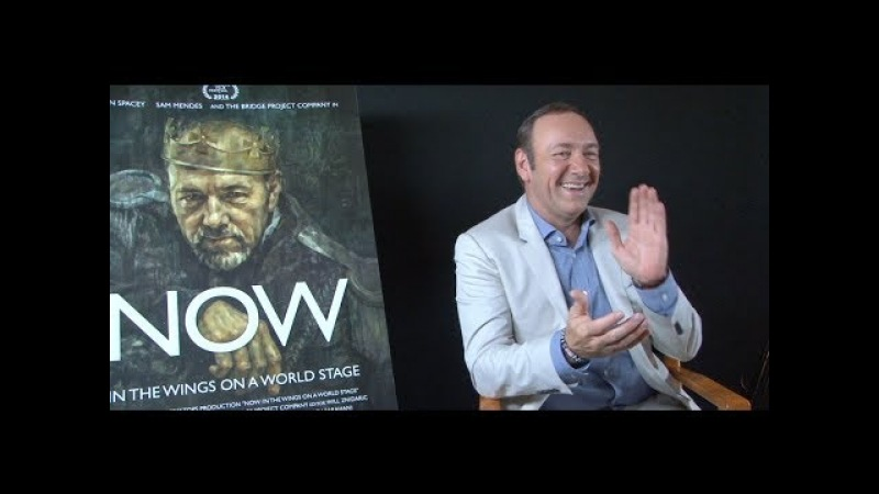 Kevin Spacey interview - NOW, HOUSE OF CARDS, AMERICAN BEAUTY