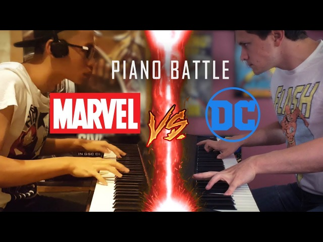 DC vs Marvel Piano Battle Mashup/Medley (piano cover) ft.Jon Pumper SHEETS
