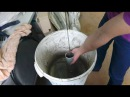 заливка бетонной смеси методом имитирующим метод ВПТ