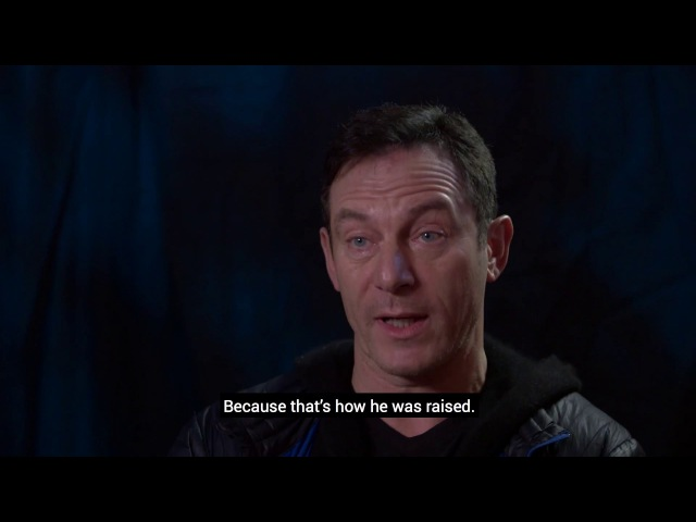 Harry Potter actor Jason Isaacs talks about playing the bully Lucius Malfoy.
