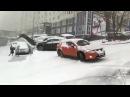 Первый снег или день жестянщика Ноябрь 2017 ДТП во Владивостоке подборка