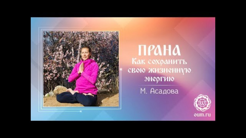 Прана Как сохранить свою жизненную энергию Мария Асадова