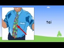 Clothes in Welsh | Welsh Beginner Lessons for Children