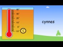 The weather in Welsh   Beginner Welsh Lessons for Children
