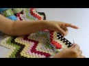 Zincirli Bebe İle Zikzaklı Battaniye Yapımı