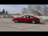 Opel Monza 3.0 E  Donuts and Drifting