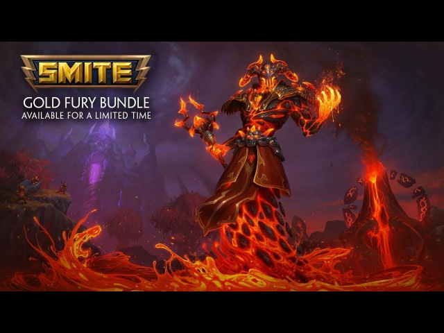 SMITE - Gold Fury Bundle - Available for a Limited Time