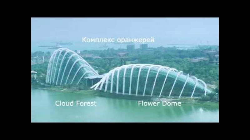 Сингапур: Водопад Клауд Форест (Cloud Forest Singapore)