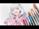 Copic Manga Drawing - Sagiri