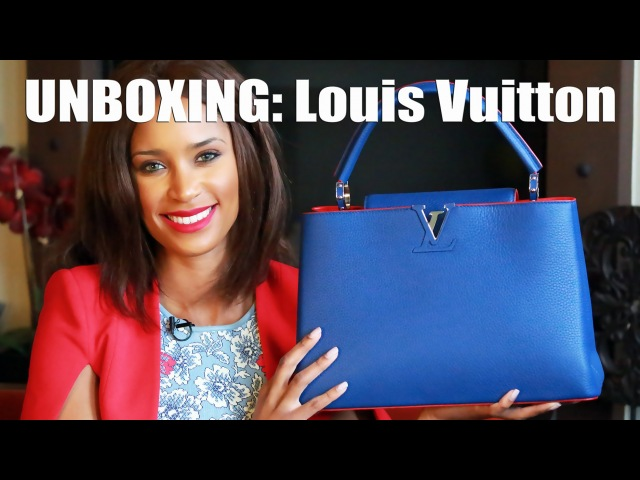 UNBOXING: Louis Vuitton Capucine MM